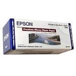 Epson Premium, 210mm x 10m, 255g/m² Fotopapier Weiß Glanz
