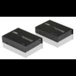 Aten VE812R-AT-E AV extender AV repeater Black