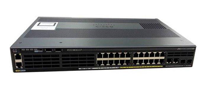 Cisco Catalyst WS-C2960X-24PSQ-L netwerk-switch Managed L2 Gigabit Ethernet (10/100/1000) Zwart Power over Ethernet (PoE)