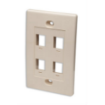 Intellinet 162951 wall plate/switch cover Ivory