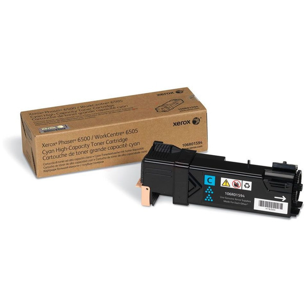 Xerox 106R01594 Toner cyan, 2.5K pages