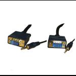 Videk SVGA 15HDD M/M w/ Audio 10m VGA (D-Sub) + 3.5mm Black