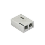 VCOM CT261 telephone splitter 2x RJ-11 F Grey
