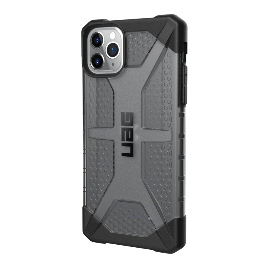 "Urban Armor Gear 111723113131 funda para teléfono móvil 16,5 cm (6.5"") Folio Negro, Translúcido"