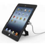 "Compulocks Lock and Security Case Bundle for iPad, 9.7"" With Screen Protector, Black"