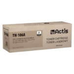 Actis TH-106A laser toner cartridge for HP printer (HP 106A W1106A compatible, new)