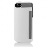 Incipio Stowaway iPhone 5 Cover Grey,White