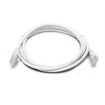 8WARE Cat 6a UTP Ethernet Cable, Snagless - 0.25m (25cm) White