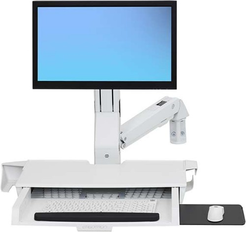 Ergotron StyleView Multimedia stand White PC
