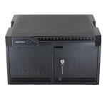Ergotron 24-333-085 Portable device management cabinet Black