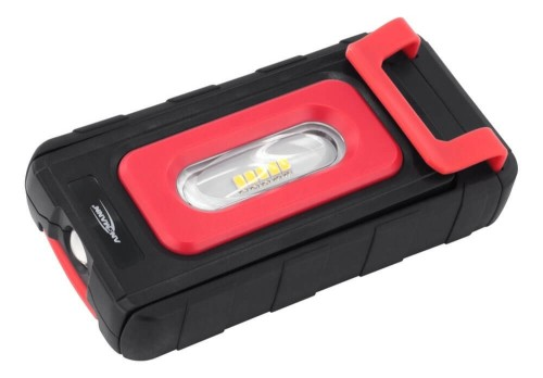 Ansmann WL200B Hand flashlight Black,Red