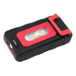 Ansmann WL200B Hand flashlight Black, Red