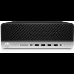 HP EliteDesk 705 G4 AMD Ryzen 5 2400G 8 GB DDR4-SDRAM 256 GB SSD SFF Black,Silver PC Windows 10 Pro