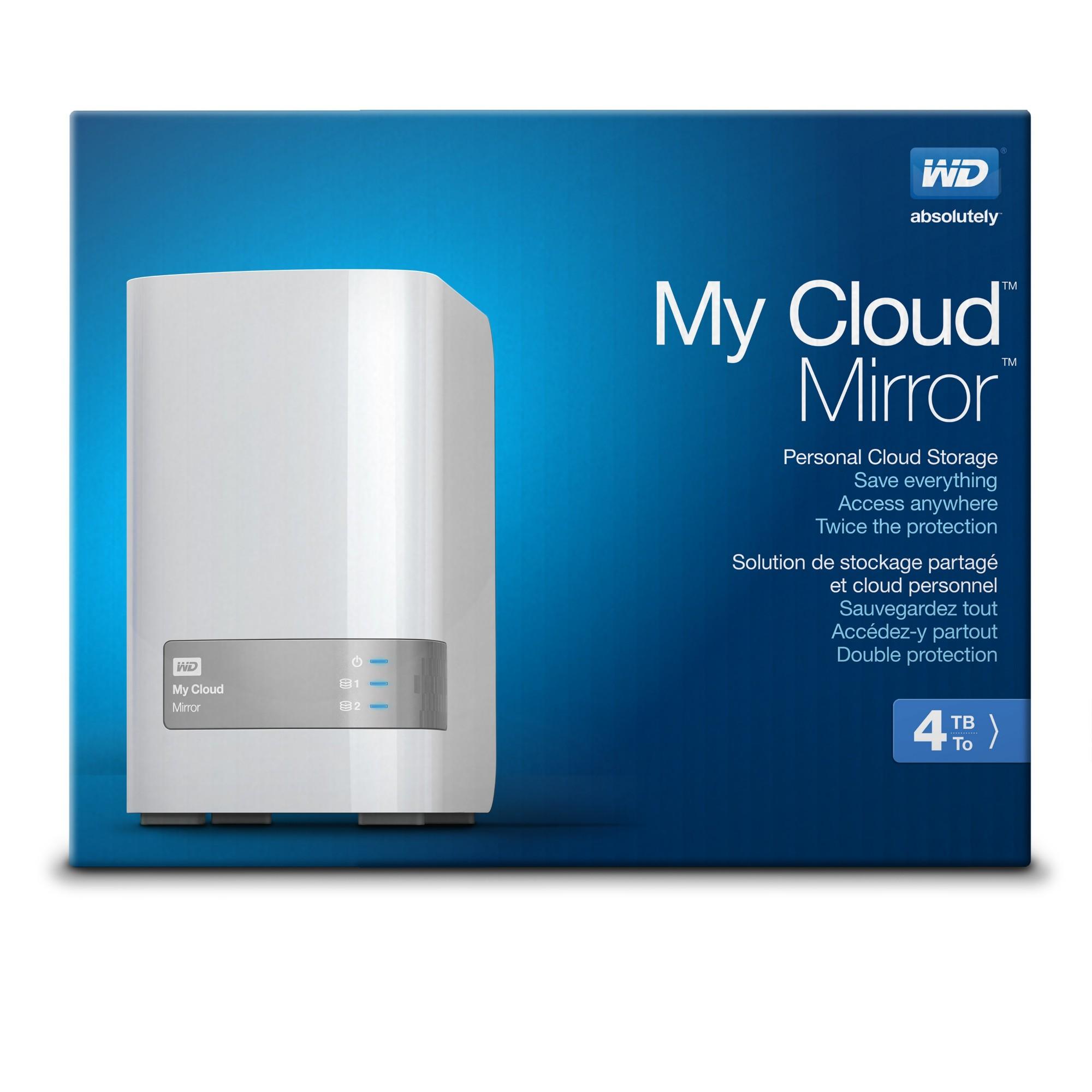 western digital my cloud mirror 4 tb storage server. Black Bedroom Furniture Sets. Home Design Ideas