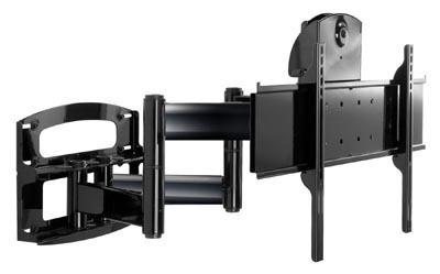 "Peerless PLAV70-UNL flat panel wall mount 165.1 cm (65"") Black"