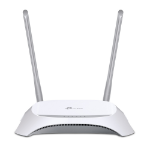 TP-LINK TL-MR3420 wireless router Fast Ethernet Black, White