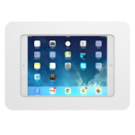 "Maclocks Rokku - Mounting kit (wall mount) for tablet - aluminium - white - screen size: 9.7"" - for Apple 9.7"