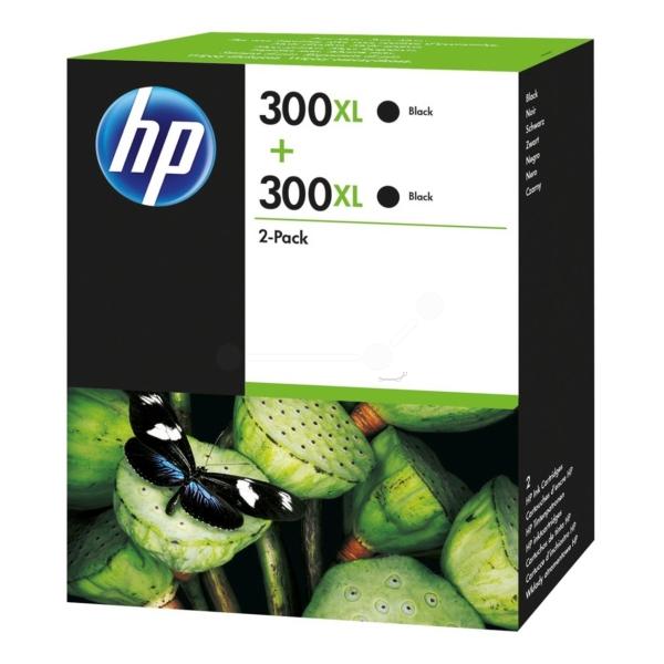 HP D8J43AE (300XL) Printhead black, 600 pages, 12ml, Pack qty 2