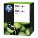 HP D8J43AE (300XL) Printhead black, 600 pages, 12ml, Pack qty 2
