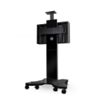 "B-Tech BTF820 80"" Portable flat panel floor stand Black"