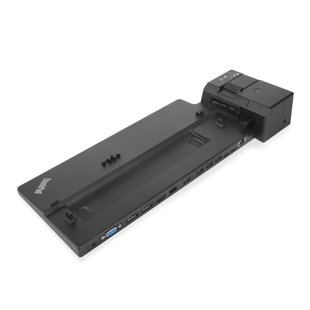 Lenovo 40AJ0135US notebook dock/port replicator Black