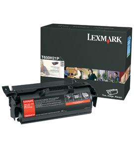 Lexmark T650H80G Toner black, 25K pages @ 5% coverage