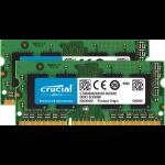 Crucial 2 x 8GB DDR3L memory module 16 GB 1866 MHz