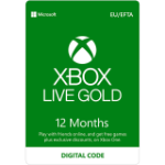 Microsoft Xbox Live Gold Xbox One