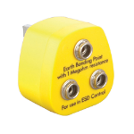 Videk 8351 power plug adapter Yellow