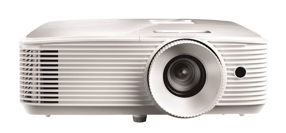 Optoma EH335 beamer/projector 3600 ANSI lumens DLP 1080p (1920x1080) 3D Desktopprojector Wit
