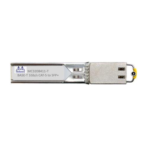 Mellanox Technologies MC3208411-T red modulo transceptor Fibra óptica 1000 Mbit/s SFP