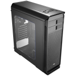 Aerocool Aero-500 Black Gaming Case With Window & Card Reader