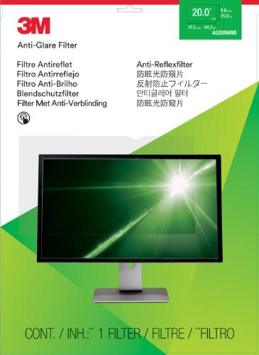 3M AG200W9B Anti-glare screen protector LCD/Plasma Universal 1 pc(s)