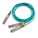 Mellanox Technologies MFS1S50-H015E Glasfaserkabel 15 m LSZH QSFP56 2x QSFP56 Aqua