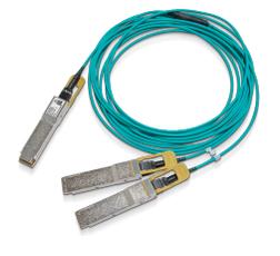 Mellanox Technologies MFS1S50-H015E cable de fibra optica 15 m LSZH QSFP56 2x QSFP56 Aqua