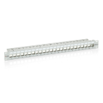 Equip 24-Port Keystone Cat.6 Shielded Patch Panel