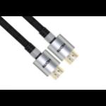 VCOM HDMI - HDMI M/M 1.8m 1.8m HDMI HDMI Black,Silver HDMI cable