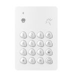 smanos WK7000 RF Wireless White numeric keypad