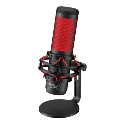 HyperX QuadCast Table microphone Black,Red
