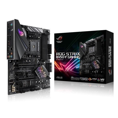 ASUS ROG STRIX B450-F GAMING motherboard Socket AM4 AMD B450