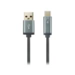 Canyon CNS-USBC6DG USB cable 1 m USB 2.0 USB A USB C Grey