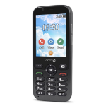 "Doro 7010 7.11 cm (2.8"") 112 g Graphite Feature phone"