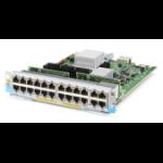 Hewlett Packard Enterprise 20-port 10/100/1000BASE-T PoE+ / 4-port 1/2.5/5/10GBASE-T PoE+ MACsec v3 zl2 Netzwerk-Switch-Modul