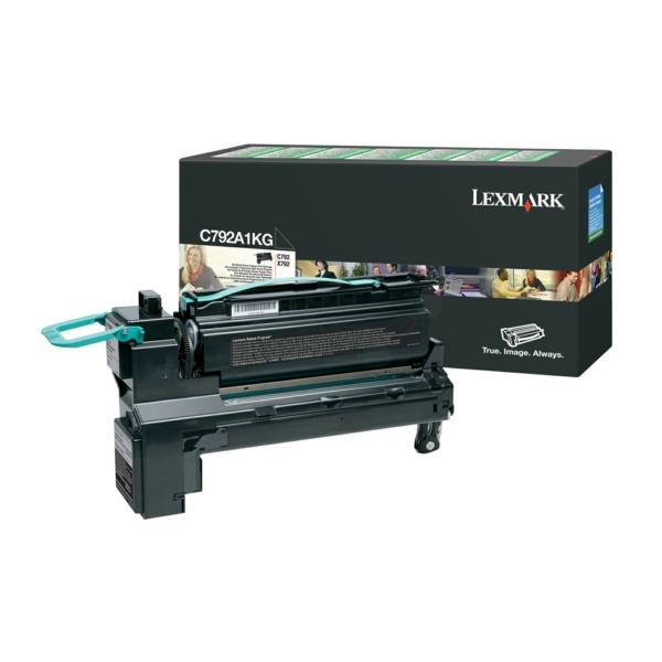 Lexmark C792A1KG Toner black, 6K pages