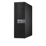 DELL OptiPlex 7050 3.6GHz i7-7700 SFF Black PC