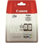 Canon PG-545/CL-546 Multipack Original Black,Cyan,Magenta,Yellow 2 pc(s)