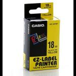 Casio XR-18YW1 label-making tape