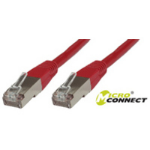 Microconnect CROSSED STP CAT6 3M 3m Red networking cable