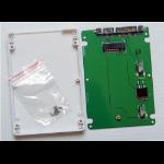 "CoreParts MSNX1002 storage drive enclosure 2.5"" SSD enclosure Metallic"