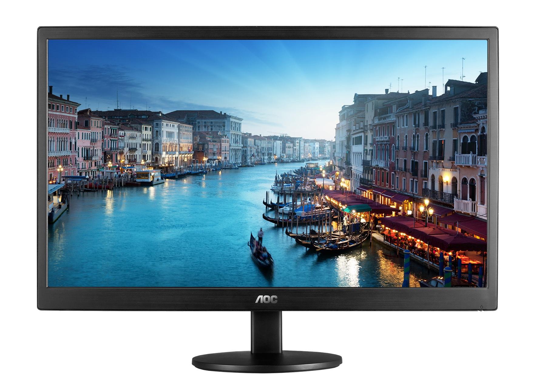 """AOC E2470SWHE 23.6"""" Black Full HD LED display"""